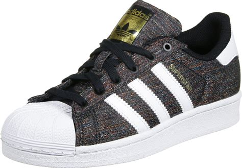 J Adidas adidas superstar j w shoes black white