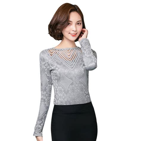 Blouse Cotton Lace G216533 fashion cotton lace crochet sleeve shirt casual blouse tops ebay