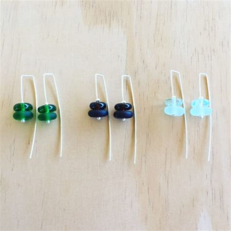 Recycled Glass Jewellery By Janganant by New Recycled Glass Earrings Julie Frahm Glass Jewellery