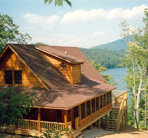 Cabin Lake Carolina by Wilderness Lake Vacations Waterfront Mountain Vrbo
