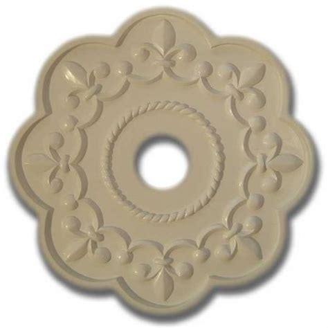 Fleur De Lis Ceiling Medallion by Fleur De Lis Chandelier Medallion Solid White By Ricci