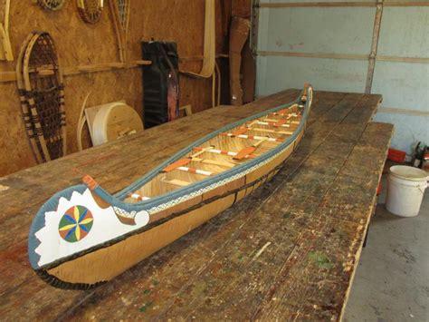 Handmade Wooden Canoes - model voyageur canoe