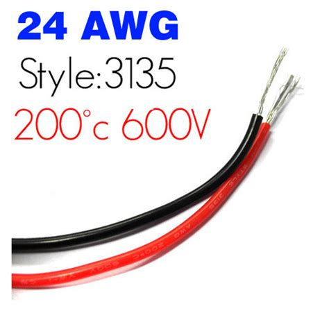 Anarchist Wire 26 Awg aliexpress buy ul3135 24awg silicone wire awg24