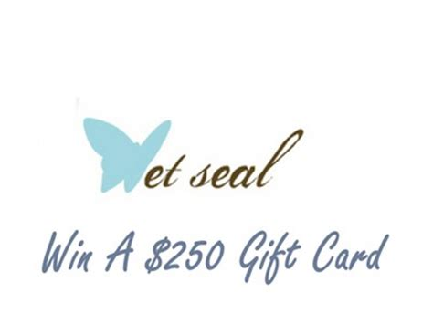 Wet Seal Gift Card - www wetseal com survey enter wet seal store receipt survey sweepstakes to win a