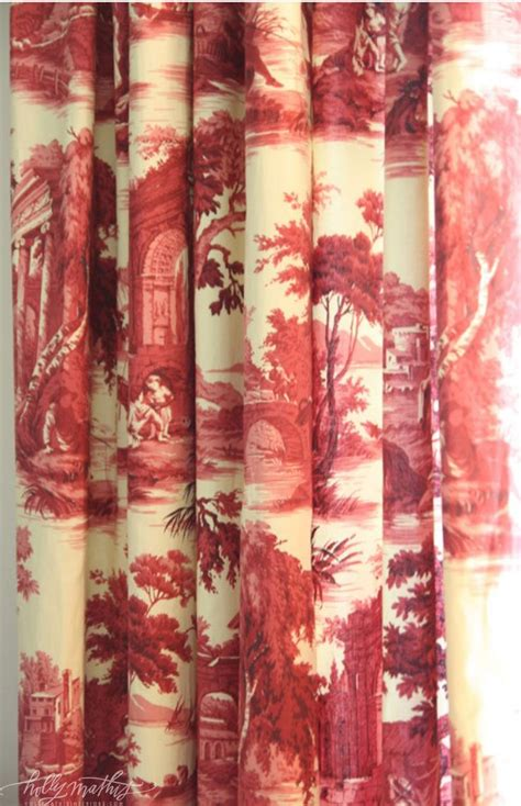 toile draperies beautiful toile curtains toile tales pinterest