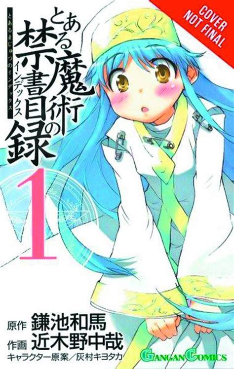 A Certain Magical Index Vol 1 Komik a certain magical index vol 1 fresh comics