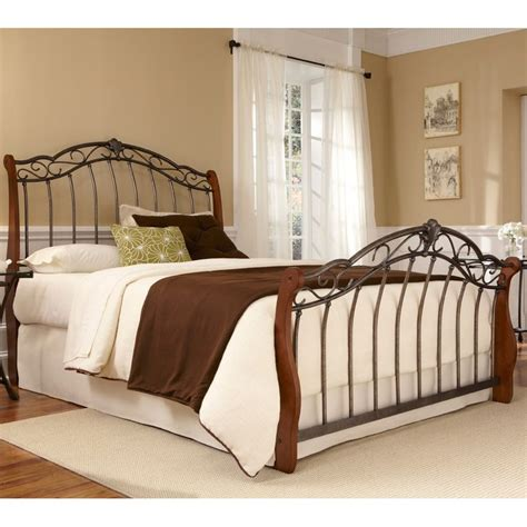 Wood And Iron Bed Frames 25 Best Ideas About Rustic Sleigh Beds On White Sleigh Bed Farmhouse Sleigh Beds