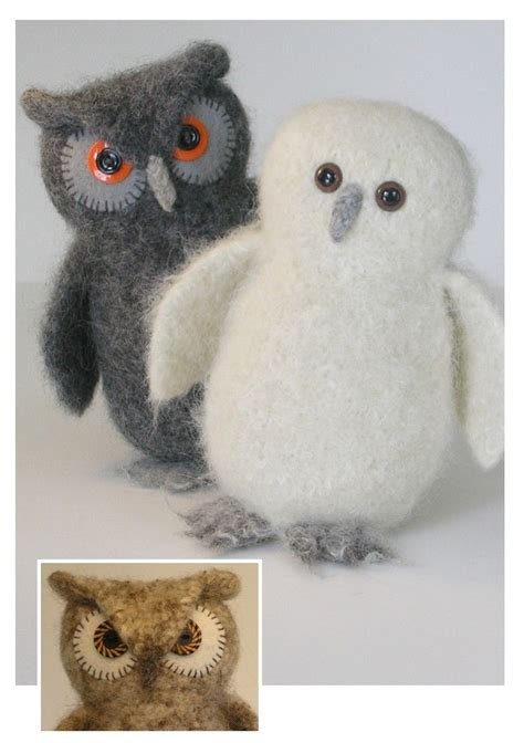 felt owl pattern pinterest quot who quot is the cutest felted wool owl crafty girl
