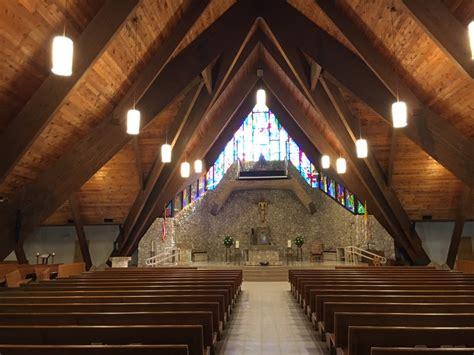 lighting st david catholic church davie fl artech