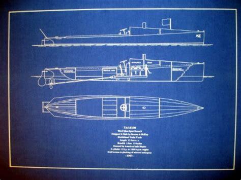 speed boat blueprint speedboat art racing boat 1905 blueprint plan seajunk