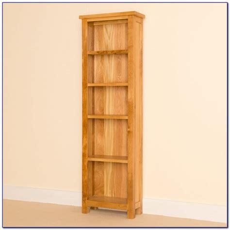 narrow bookcases with doors bookcase home design