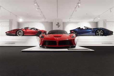 Ferrari Museum Modena by Ferrari Museum Himmel Motorblock