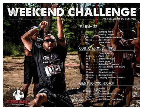 rugged maniac workout 25 best ideas about rugged maniac on obstacle races obstacle course and