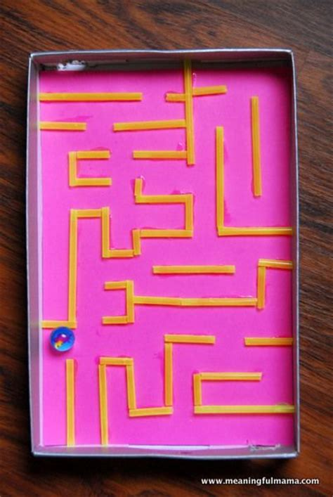 How To Make A Maze On Paper - marble maze maze and marbles on