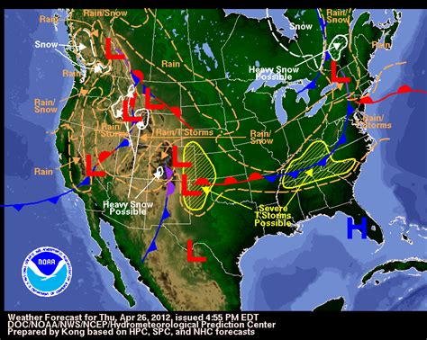us weather map for yesterday april 27 29 2012 weather