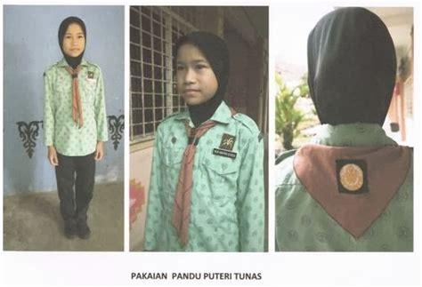 Pakaian Seragam Putri Islam sek keb padang midin panduan pakaian seragam unit