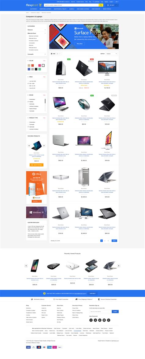 flexykart responsive supermarket shopify template