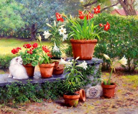 imagenes de jardines con glorietas im 225 genes arte pinturas pinturas realistas de jardines y