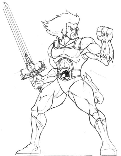 Thundercats Coloring Pages thundercats coloring pages 11 80s colouring