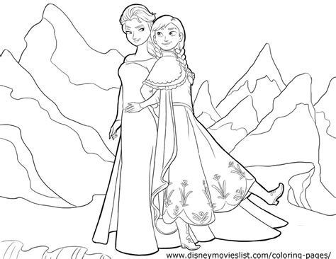 disney s frozen coloring pages sheet free disney