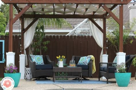 diy pergola cost how to build a pergola my frugal adventures