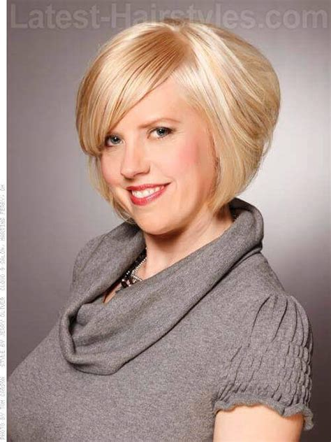 bob with volume 14 gorgeous head turning short hairstyles for fine hair