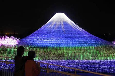 dazzling photos reveal japan s greenest illuminated