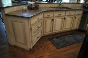 Faux Kitchen Cabinets by Ccff Kitchen Cabinet Finish Ii Traditional Kitchen