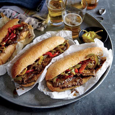 chicago recipe chicago style italian beef hoagies recipe myrecipes