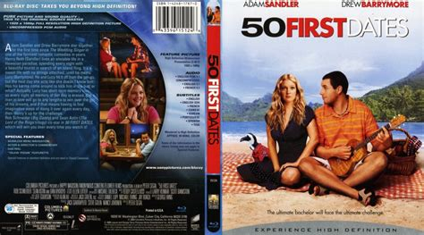 50 First Dates 2004 50 First Dates Movie Blu Ray Scanned Covers 50 First Dates 2004 English Bluray F Dvd