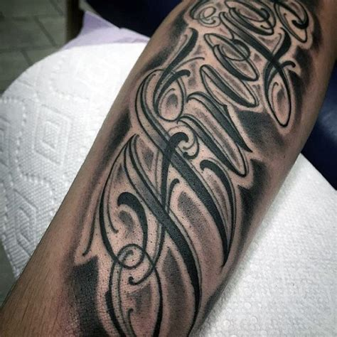 tattoo writing styles for men 75 lettering designs for manly inscribed ink