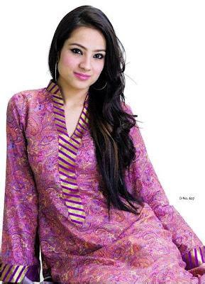 Heath Ss Dress 2 Color Combination supreme lawn prints for summer 2012 by sitara textiles