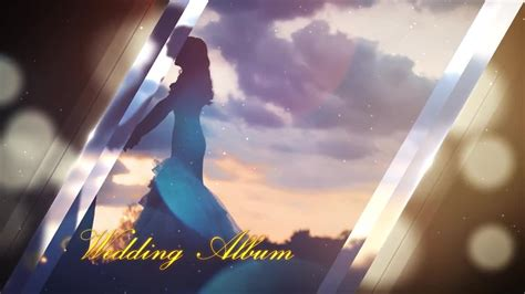 after effect template project wedding album after effects template motion array