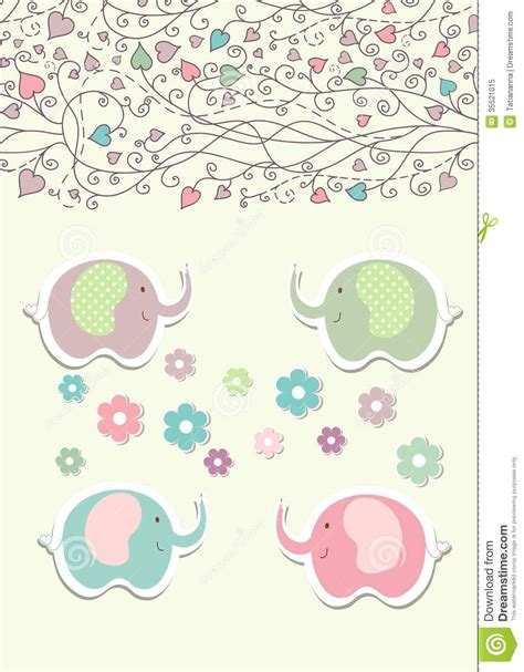 doodle vintage vintage doodle elephant for frame wallpaper vector royalty