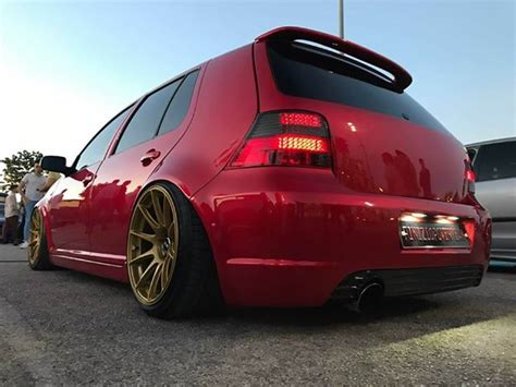 vw golf  airride system mapet tuning group
