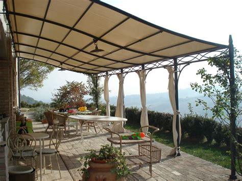tettoie giardino tettoie in ferro battuto pergole e tettoie da giardino