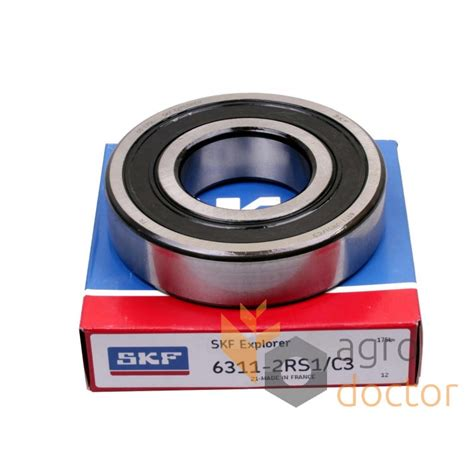 Bearing 6311 2rs1 Skf 6311 2rsc3 skf groove bearing buy at agrodoctor eu price stock delivery