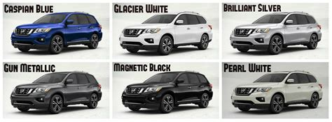 2017 nissan pathfinder pearl white 2017 nissan pathfinder exterior paint options and interior