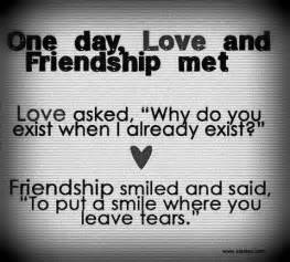 Love For A Friend Quotes by Quotes On Friendship And Love New Quotes