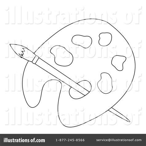 art palette coloring page free coloring pages of painters palette