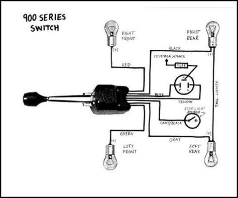 universal turn signal switch wiring diagram empi universal turn signal switch wiring diagram