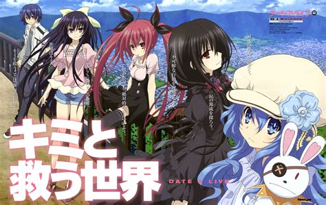 date alive anime date a live image 1517041 zerochan anime image board