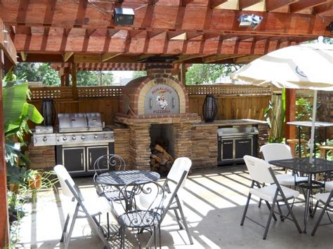 the family wood fired pizza oven patio pizzeria
