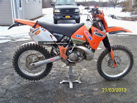 2002 Ktm 200 Exc 2002 Ktm Exc 200 Well Equiped