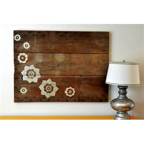 reclaimed wood home decor diy projects the cottage market