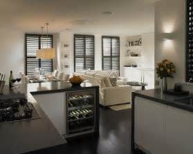 small open kitchen design ideas amp remodel pictures houzz and living room