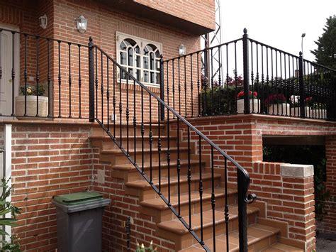 escaleras y barandillas barandillas para escaleras de hierro y forja en madrid