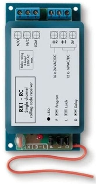 dc rc members please lock the gate et rx1 rc gate drive solutions