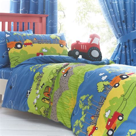 kids curtains and bedding hilltop farm bedding and curtains single double junior