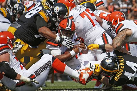 Browns Live In Sues For Half Of His Estate by Steelers Vs Browns Week 17 Half Live Updates